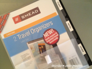 Travel Tips, how to organize your travel documents, travel agent, honeymoon, destination weddings
