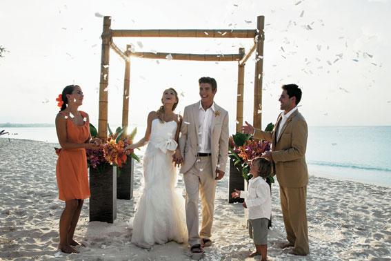 sandals destination weddings - best destination wedding locations