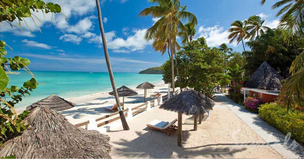 5 Best Beaches - Dickenson Bay, Sandals - Antigua