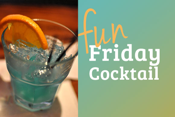 Fun Friday Cocktail: Blue Hawaiian