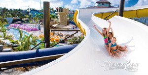 All-Inclusive Holiday Travel for Families at Beaches Turks And Caicos Water Slide