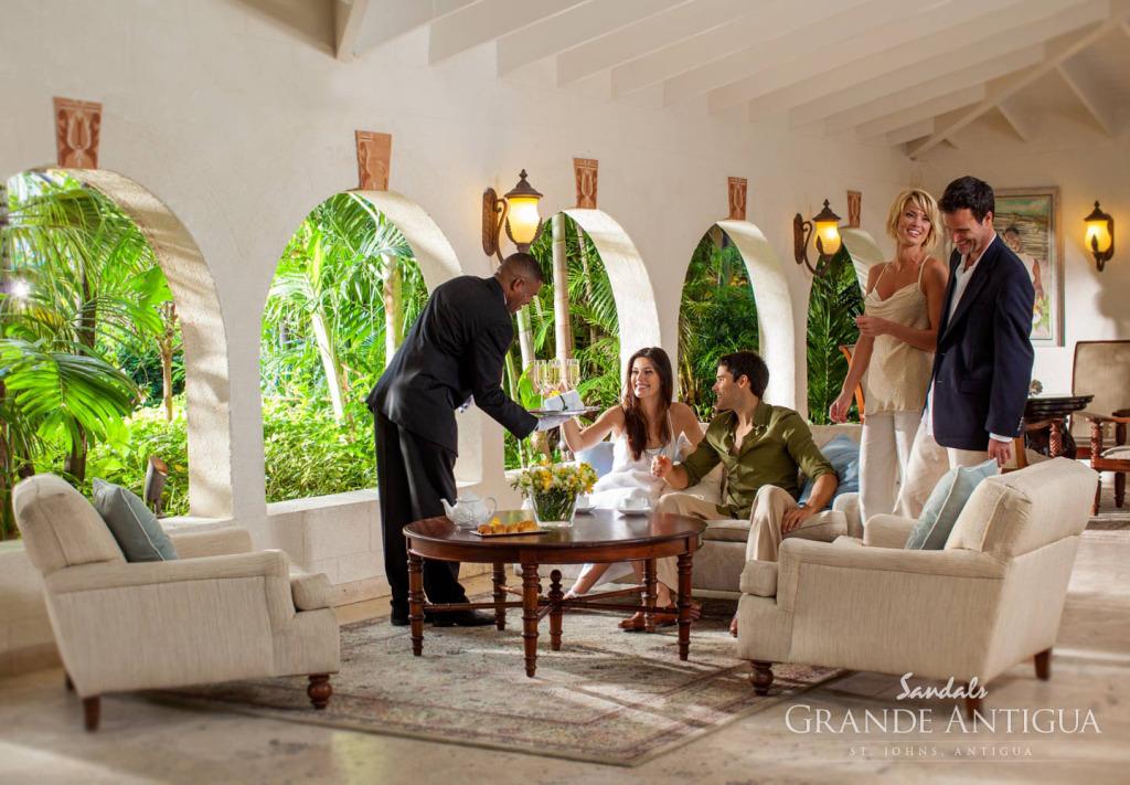 Honeymoon in Antigua - Sandals Grande Antigua Resort and Spa Dining