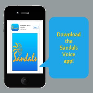 Sandals Voice App
