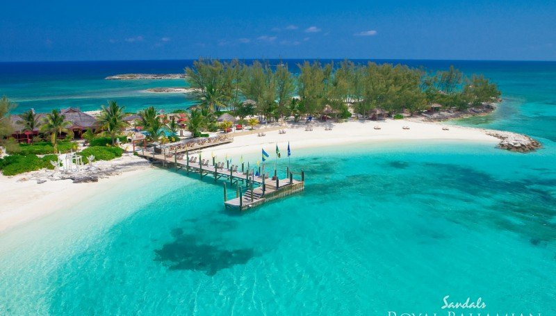 Sandals Royal Bahamian Spa Resort & Offshore Island - wedding on a private island