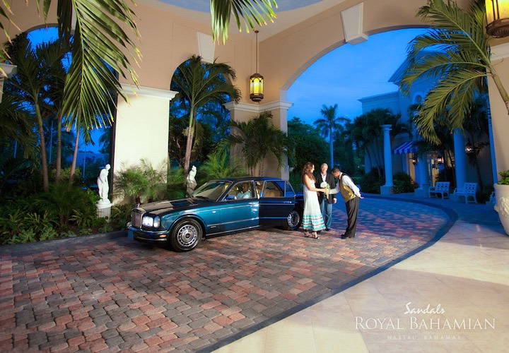 Top Features of Sandals Royal Bahamian Spa Resort & Offshore Island- Rolls Royce-2015