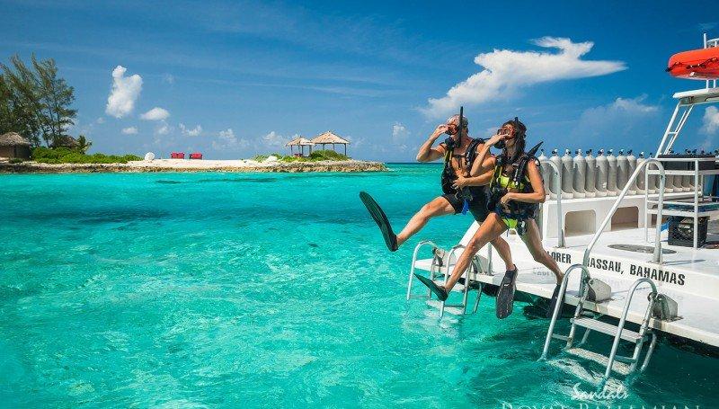 scuba diving on your honeymoon