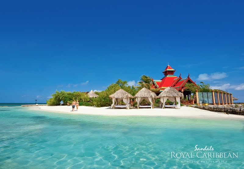 Sandals-Royal-Caribbean-Resort-Private-Island - wedding on a private island