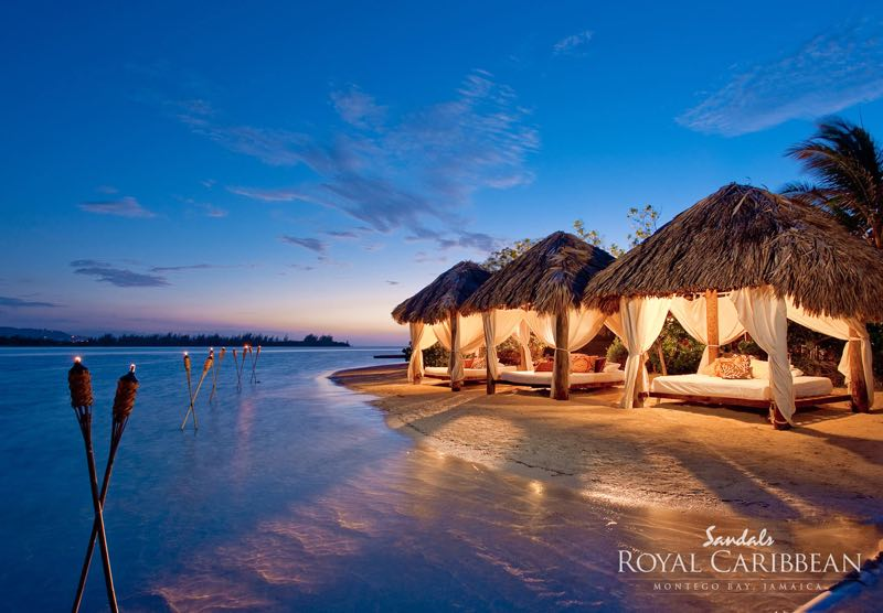 Sandals-Royal-Caribbean-Resort-Private-Island-Wedding on a Private Island