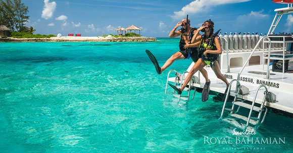 blog-diving at Sandals