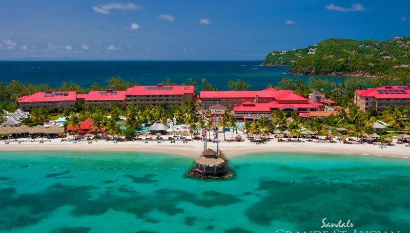 Top Caribbean Resorts - Sandals Grande St. Lucian Spa & Beach Resort