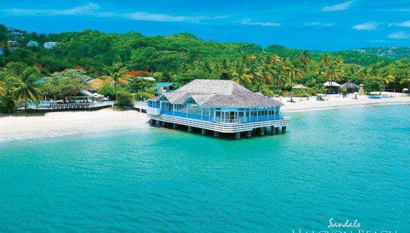 Top Caribbean Resorts - Sandals-Halcyon-Beach-St.-Lucia