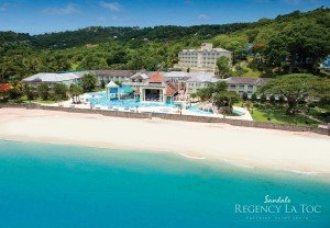 Top Caribbean Resorts - Sandals Regency La Toc St Lucia Golf Resort & Spa