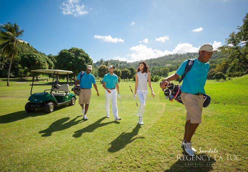 Top Caribbean Resorts - Sandals Regency La Toc St Lucia Golf Resort & Spa