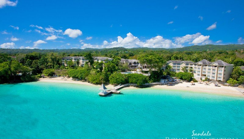 Top Caribbean Resorts - Sandals Royal Plantation