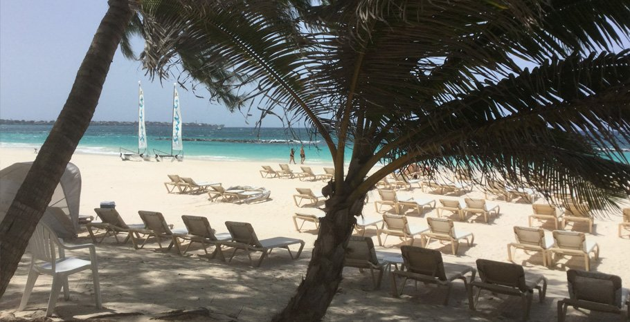 Barbados Beach at Sandals