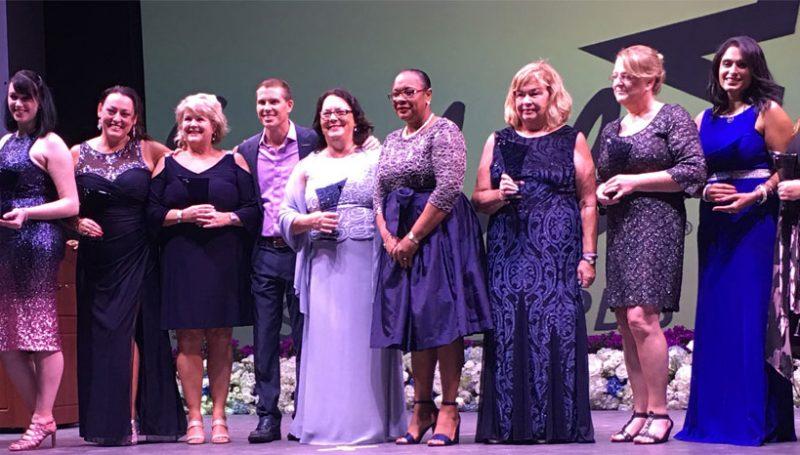 Eileen Nason Wins Big at Sandals' Star Awards