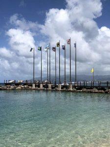 Grenada Sandals Flags