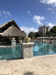Grenada Sandals Pool Area