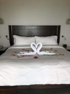 Grenada Sandals Towel sculpture