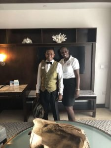 Grenada Skypool Suite Butler Staff