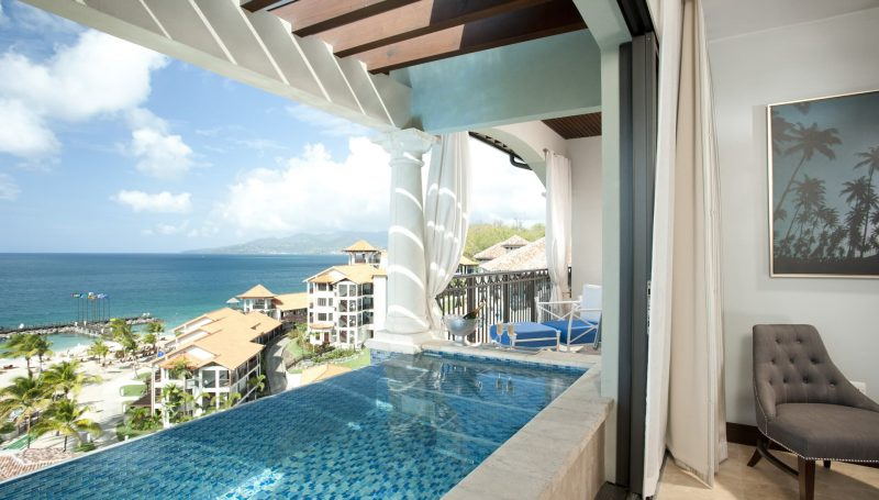 Skypool Suite by Sandals