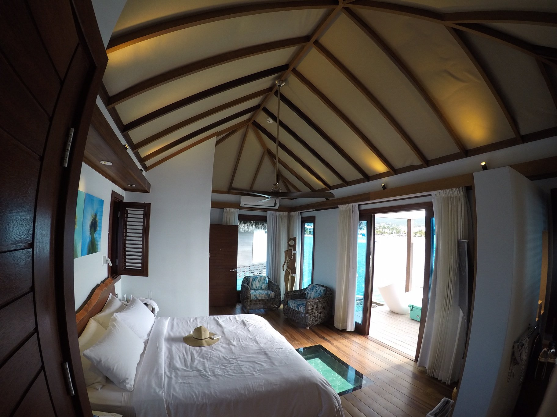 All Inclusive OverWater Bungalow luxury suite