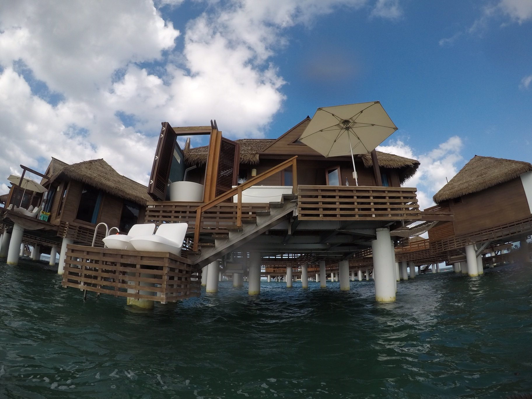 Over Water Bungalow outside view